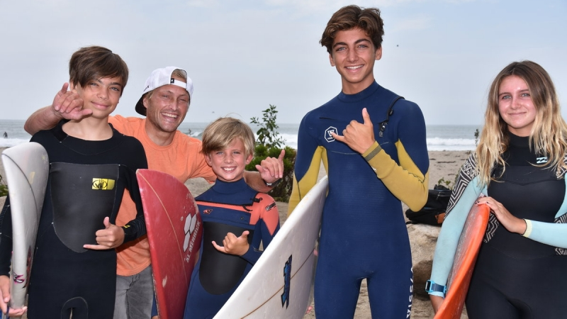 Nugget Surf School Dedicated to Helping Kids 3