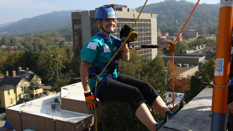 Council on Aging's Over the Edge 8