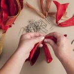 How to Make a Ribbon Wreath 1