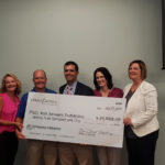 Closet Factory Presents Check to Bon Secours for $29,000 4