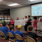 Closet Factory Presents Check to Bon Secours for $29,000 2