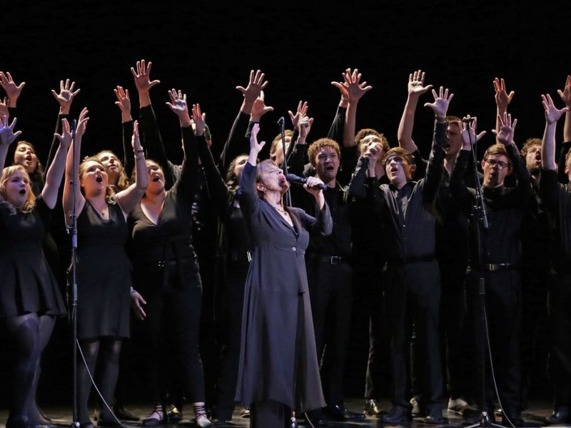 Lindenwood Students Perform with Patti LuPone 1