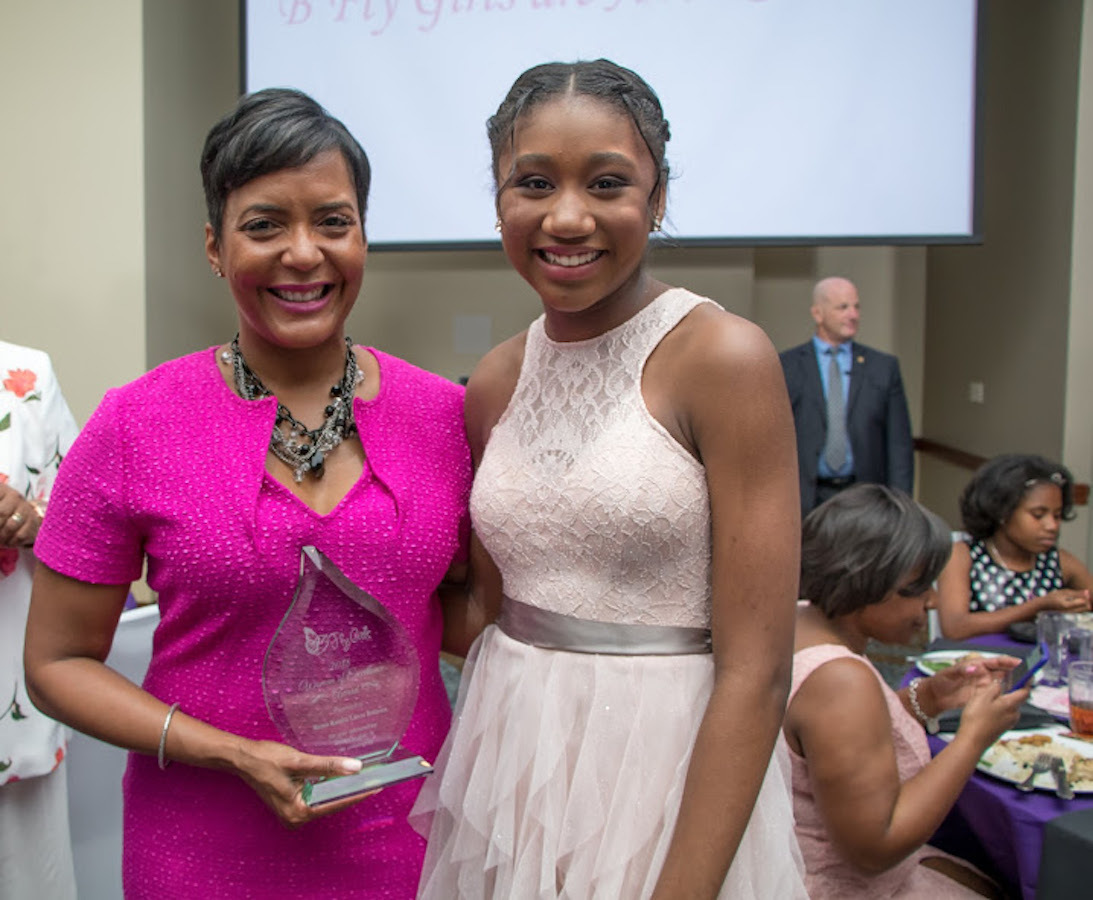 B'Fly Girls Inc  Honors Woman of Excellence Mayor Keisha Bottoms