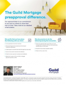 Guild Mortgage PreApproval - Do you have your's? 2017-07-14