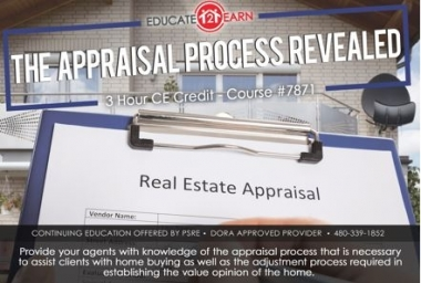 the appraisal process revealed
