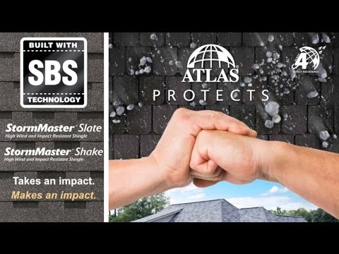 StormMaster Impact Rated Shingles from Atlas