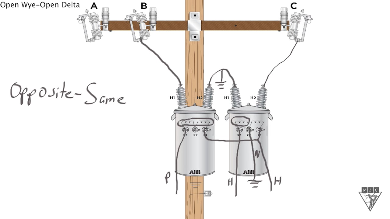 Wye 3 Phase Transformer Wiring Diagram on delta and wye wiring basics