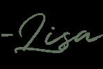 Lisa Script signature