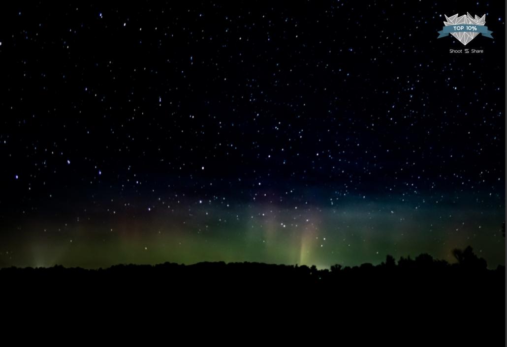 2019 photo contest aurora beams