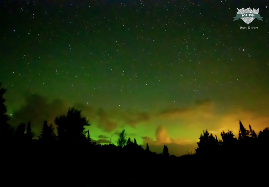 2019 photo contest aurora glow