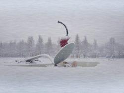 Spoon & Cherry in Winter by LisavDrew