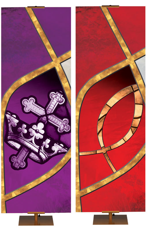 Sacred Symbols Banner Collection of 8