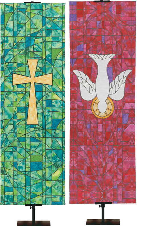 Stained Glass Symbols of Faith