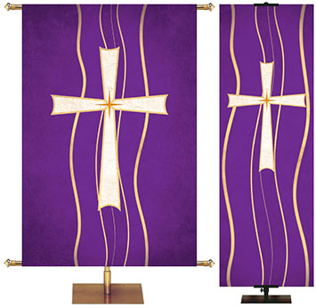 Dove Christian Symbols of Faith Banner