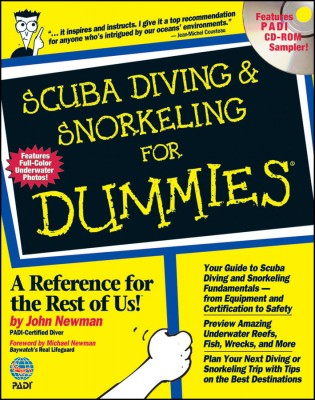 Scuba Diving and Snorkeling for Dummies Book