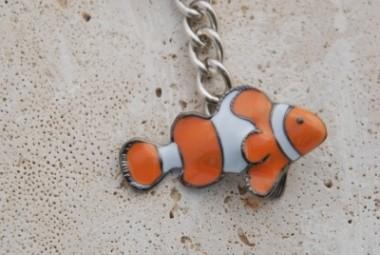 clown fish key chain