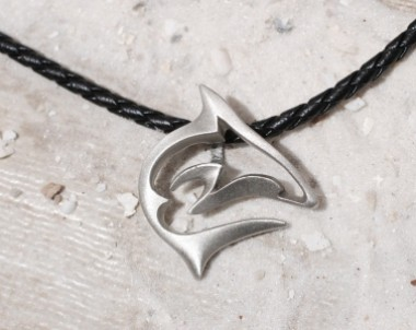 frenzy shark necklace