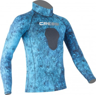 Cressi Blue Hunter Demon Rash Guard