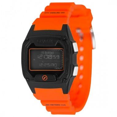 Freestyle Shark Skin Diver LCD Dive Watch (Unisex) - Orange/Black