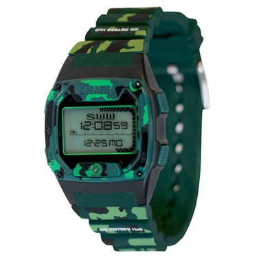 Freestyle Shark Skin Diver LCD Dive Watch (Unisex) - Camo