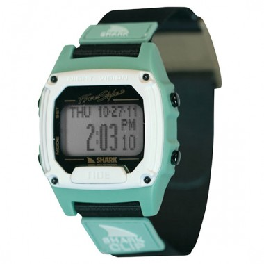 Freestyle Shark Clip Tide LCD Dive Watch (Unisex) - Mint