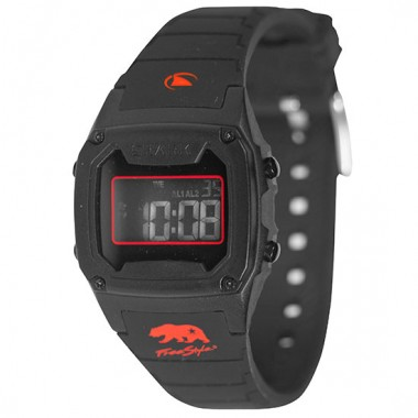 Freestyle Shark Classic LCD Dive Watch (Unisex) - Black/Red