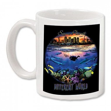 Amphibious Outfitters Different World Mug