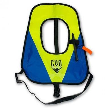 EVO Inflatable Deluxe Snorkel Vest