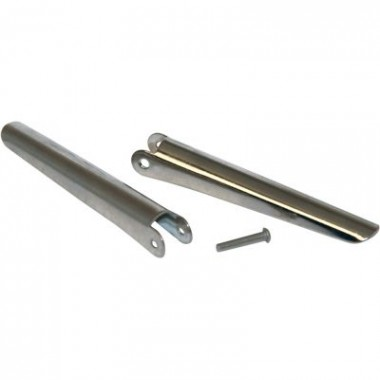 2 - 2 Inch Stainless Barbs with Rivet