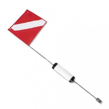 2 Piece Cylinder Float With Dive Flag