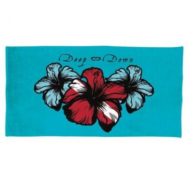 Hibiscus Print Towel