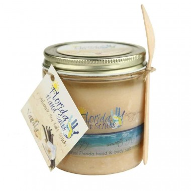 Florida Salt Scrubs Vanilla 8oz Jar