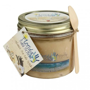 Florida Salt Scrubs Vanilla 16oz Jar