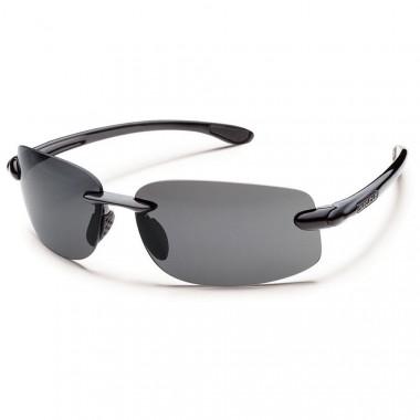 Suncloud Excursion Black Gray Sunglasses