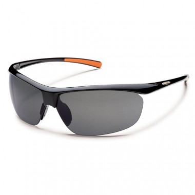 Suncloud Zephyr Black Sunglasses