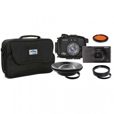Sony Cyber-Shot RX100 III Underwater Camera Kit