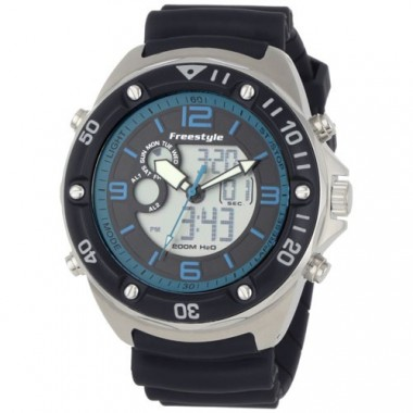 Freestyle Precision 2.0 Dive Watch Black/Blue