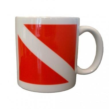 Dive Flag Ceramic Mug