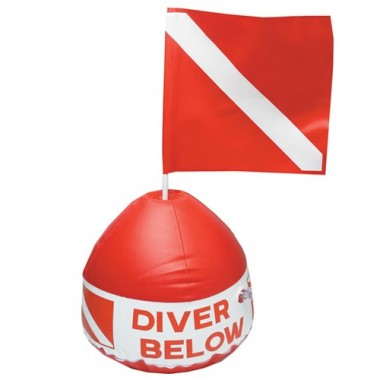 Diver Below Inflatable Float Dive Flag