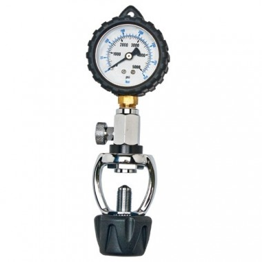 SCUBA Cylinder Pressure Gauge