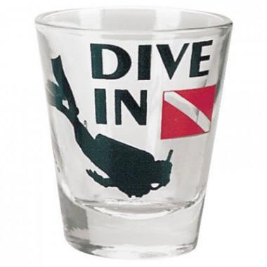 Dive In Shot Glass