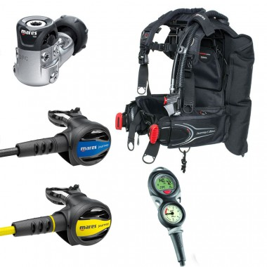Mares Upgrade Journey Elite BCD Scuba Package