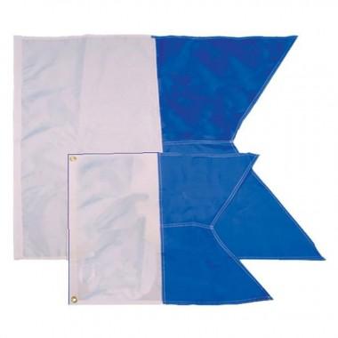 TRIDENT 20X24 NYLON ALPHA FLAG