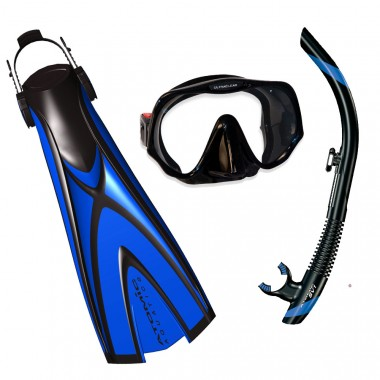 Atomic X1 Pro Package - Mask, Fins, Snorkel
