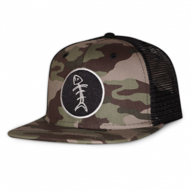 Speared Apparel Camo Trucker Hat
