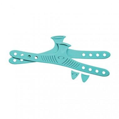Oceanic Accel Fin Strap Color Kit - Sea Blue