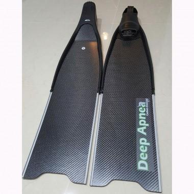 Deep Apnea Carbon Fiber Fin Blades Biaxial 80cm