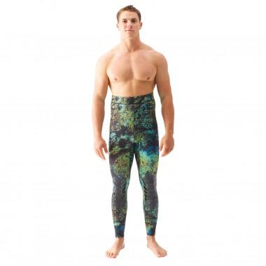 Riffe Digi-Tek Camo Wetsuit - 3.5mm High Waist Pants