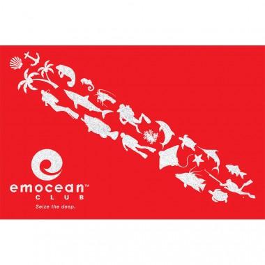 Emocean Flag Reflective Sticker