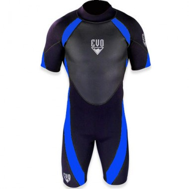 EVO 3mm Mens Shorty Wetsuit